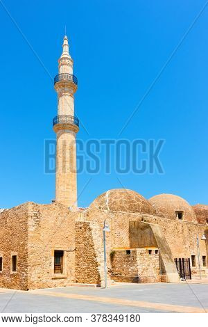 Old mosque in Rethymno, Crete, Greece