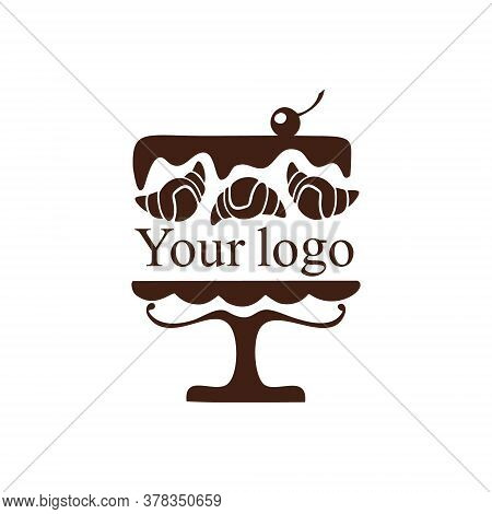 Logo For A Baking Company. A Bakery That Bakes Delicious Cakes, Pastries, Cupcakes, Muffins, Pies, A