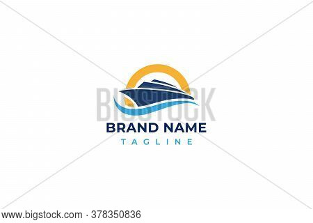 boat logo . boat design . yacht logo. yacht vector . boat vector . ship vector . ship logo design . boat image . ship image . yacht logo ideas . boat or yacht logo design . vector illustration