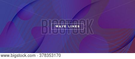 Red Dynamic Abstract. Flow Shape Pattern. 3d Background. Wave Digital Layout. Geometric Vibrant Dyna