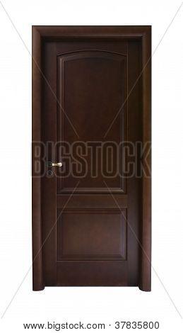 Dark Brown Door