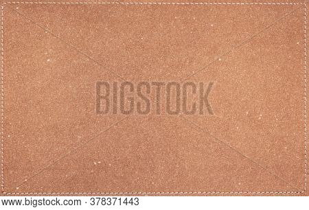 brown leather texture background surface or leatherette