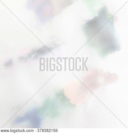 Watercolour Multicolor Pattern. Colored Pastel Texture. Cloudy Tie Dye Paint. Tie Dye Tender Paint.