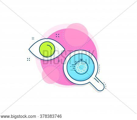 Settings Cogwheel Sign. Research Complex Icon. Seo Timer Line Icon. Traffic Management Symbol. Analy