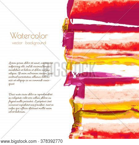 Orange, Yellow, Red, Autumn Maple, Gold Marble Hand Painted Background Texture. Abstract Oil Backdro