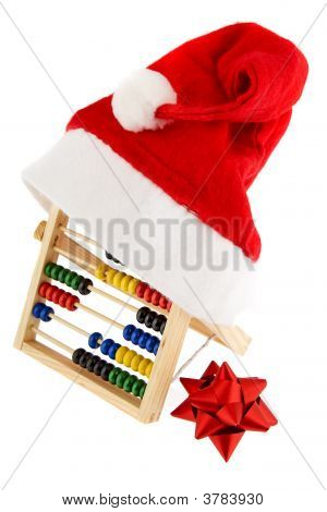 Christmas Cap With Adding Machine