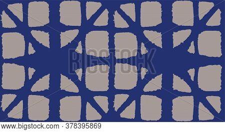 Japanese Tie Dye Seamless Pattern. Elegant Kimono Textile. Luxurious Japanese Clothes Print. Bohemia