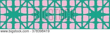 Japanese Tie Dye Seamless Pattern. Artistic Shibori Seamless Pattern. Glamour Kimono Fabric. Geometr