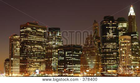 Nyc Skyline Lower East