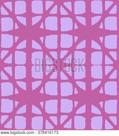 Japanese Tie Dye Seamless Pattern. Boho Arc Shape Pattern Elegant Kimono Textile. Rich Vip Japanese