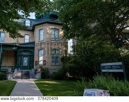 Ottawa, Ontario, Canada - July 7, 2020: Laurier House Is A National Historic Site In The Canadian Ca