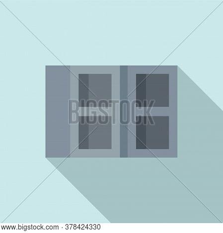 Construction Stone Brick Icon. Flat Illustration Of Construction Stone Brick Vector Icon For Web Des