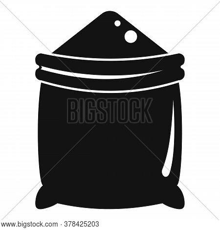 Construction Powder Sack Icon. Simple Illustration Of Construction Powder Sack Vector Icon For Web D