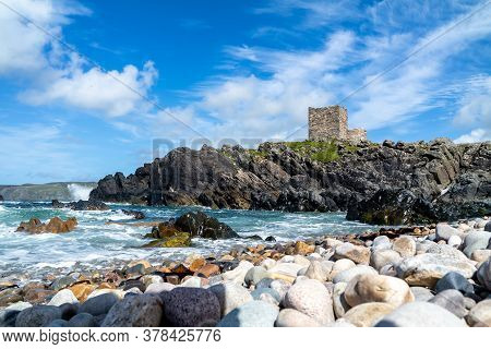 Carrickabraghy Castle - Isle Of Doagh, Inishowen, County Donegal - Ireland