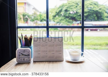 Calendar 2021 For Planner And Organizer To Plan And Reminder Daily Appointment , Meeting Agenda, Sch