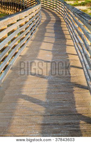 A Wooden Dune Boardwalk
