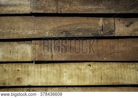 Weathered And Abandoned Brown Wood