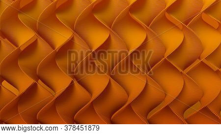 Render of 3D Geometric Abstract Background