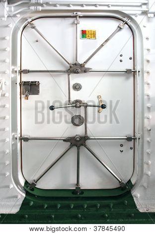 Watertight Door On A Ship