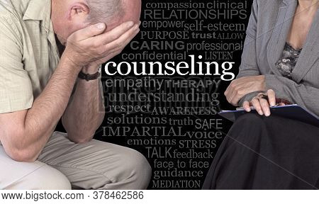 Counseling Sessions Can Help - Seek The Advice Of A Therapist - Female Therapist With Clipboard Sat
