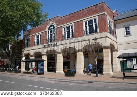 Debenhams At The Castle Quay Shopping Centre On Bridge Street In Banbury, Oxfordshire In The Uk Take
