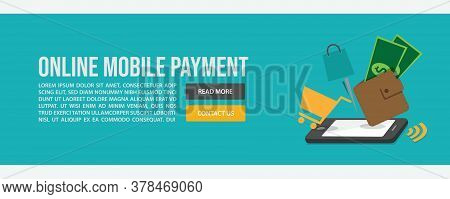 Online Mobile Payment Web Banner