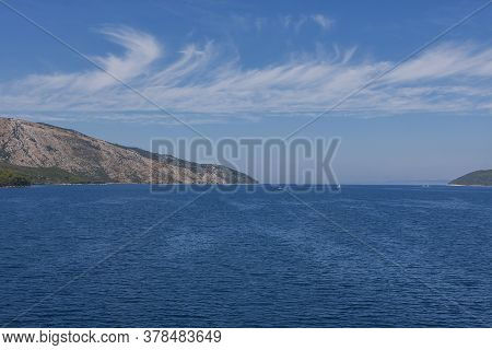 Exit From The Port Of Stari Grad To The Open Sea