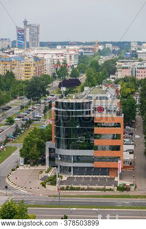 Belgrade, Serbia - June 23, 2019: Bank Of China Office Building In Belgrade, Serbia.