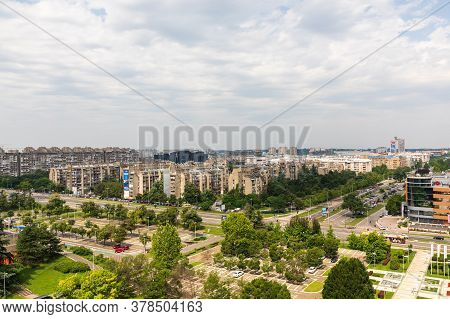 Belgrade, Serbia - June 23, 2019: Capital City Panorama At Summer Day In Belgrade, Serbia.
