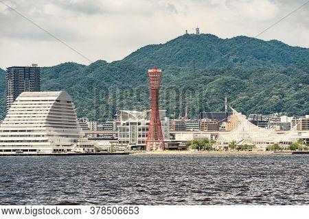 Kobe downtown Hyogo Kansai Japan