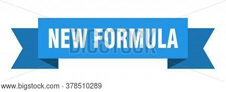 New Formula Ribbon. New Formula Isolated Band Sign. New Formula Banner