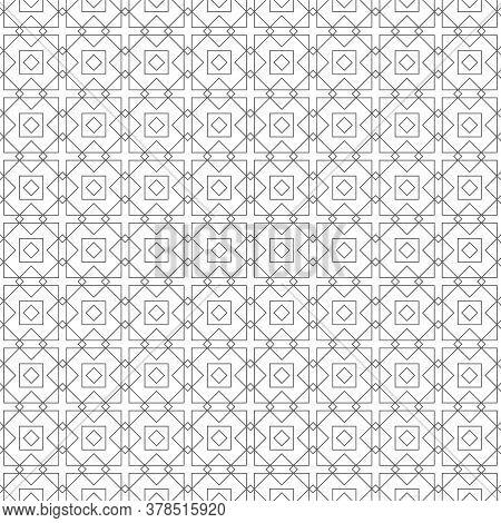 Seamless Pattern. Modern Stylish Texture. Regularly Repeating Geometrical Shapes, Rhombuses, Diamond