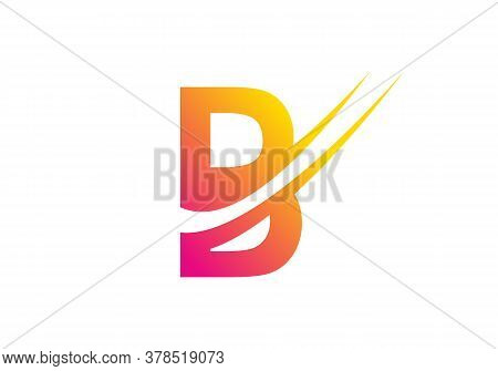 Letter B Logo. B Letter Design Vector With Colorful Concept. B Letter Logo Business Template Vector