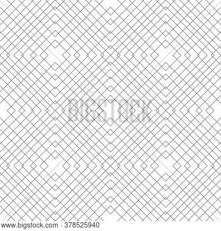 Abstract Pattern With Geometric Shapes From Lines.