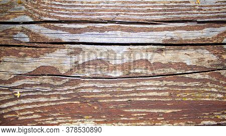 Shabby Wood Background. Old Brown Wood Planks. Concept Image.