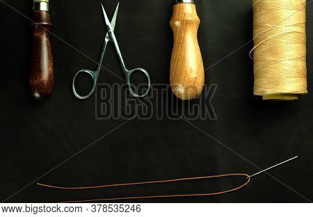Leather Crafting And Tools For Crafting Leather Goods.