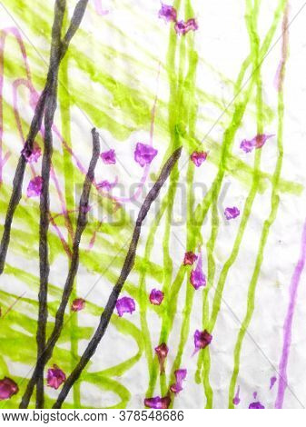 Distress Line Pattern. Lines Marker Grungy Ornament. Background Distress Line Pattern. Ripple Kids A