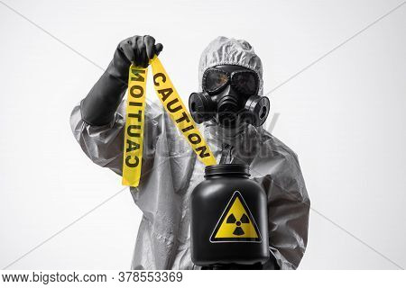 Fight Against Biological Catastrophe. Radiation And Chemical Poisoning