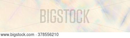 Watercolour Blotch. Pastel Tie Dye Splash. Colored Cloudy Splash. Rainbow Pastels Banner. Watercolou