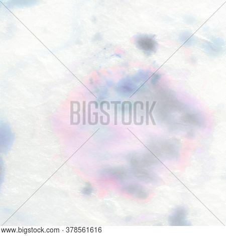 Tender Blured Gradient. Colored Pastel Pattern. Pastel Gentle Paint. Tie Dye Watercolour Paint. Wate