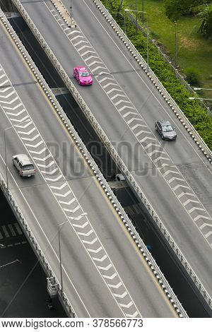 The Expressway Roads Without Cars In Thailand