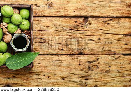 Unripe Walnut Tincture