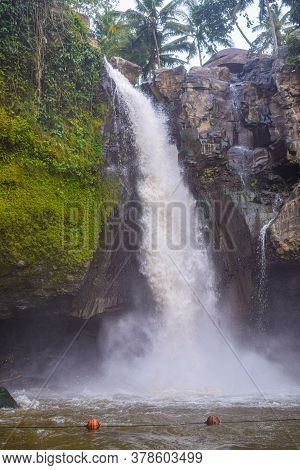 Tegenungan Waterfall Is A Beautiful Waterfall Located In Plateau Area And It Is One Of Places Of Int