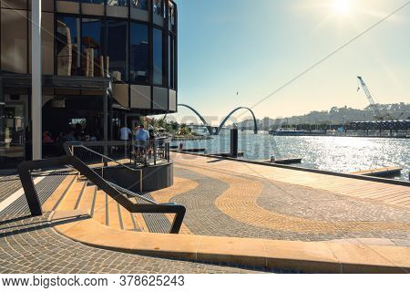 An image of the Elizabeth Quay at Perth Western Australia