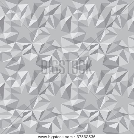 Vector Abstract Texture - Stars And Triangles