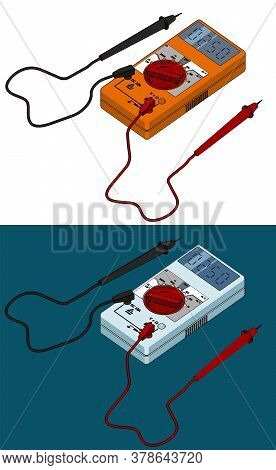Digital Multimeter Illustrations