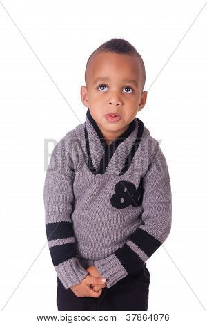 Portrait African American Little Boy