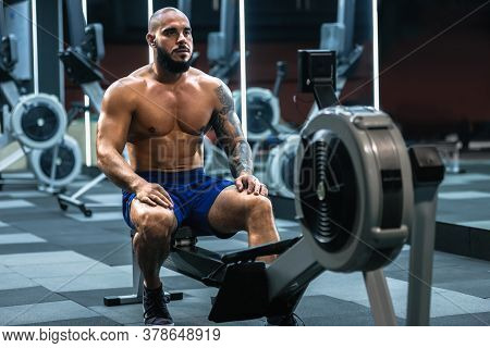 Sporty Man Training