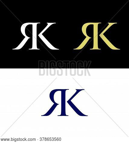 Letter R And Letter K Logo, Rk Initials, Rk  Logo
