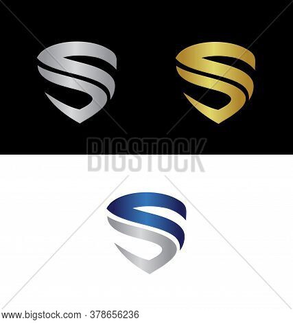 Abstract Letter S Logo, Letter S Logo, S Logo